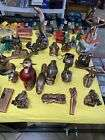 LOT OF 50ASSORTED VINTAGE CIGARETTE LIGHTERS  Used Look At Pictures Nice Lot