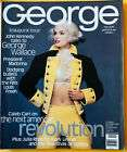 George Inaugural Magazine Oct/Nov. 1995 (Pre-Owned) for Charity