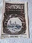 RARE vtg SUNSET Magazine Dec. 1901~Luther Burbank & his work~Christmas in Mexico